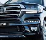Фары Toyota Land Cruiser 200 Executive Black, White Koito c 16г.-