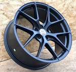 Диски HRE P101 8 18 5x112 (Satin Black) Черные
